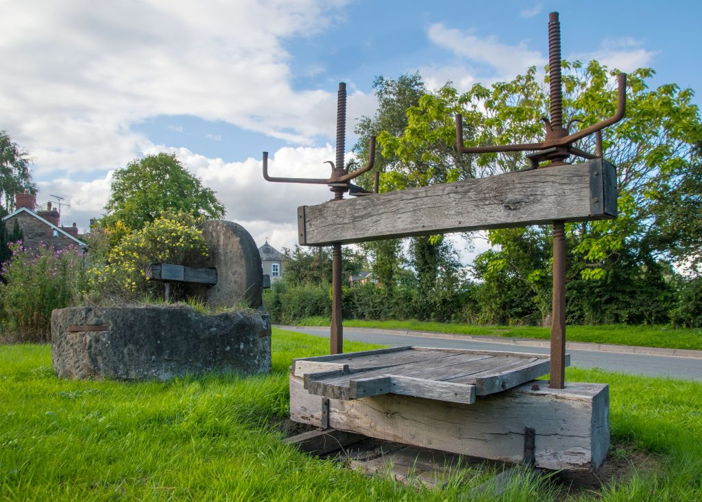 28 Sherford cider press