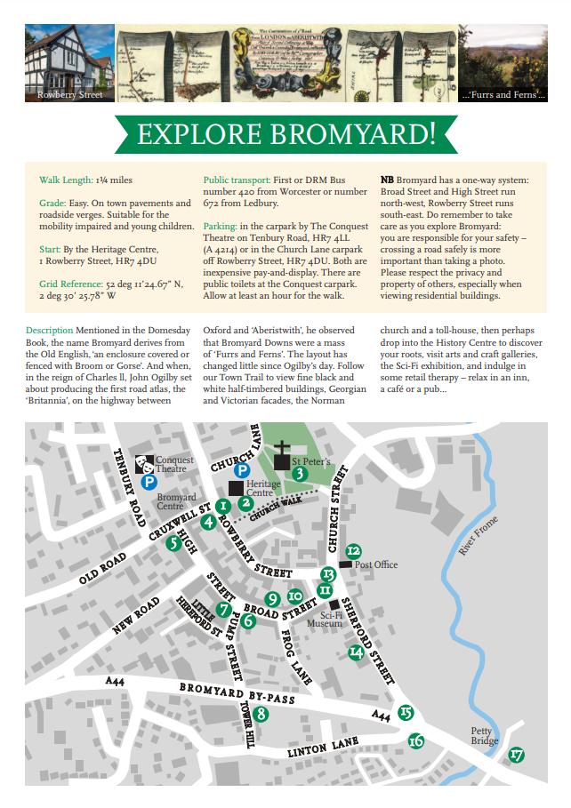 explore bromyard guide